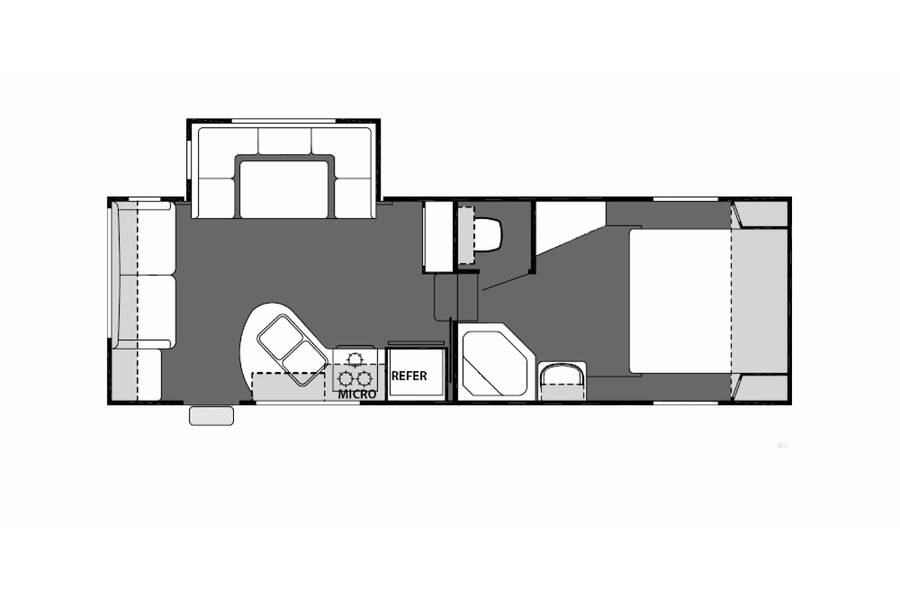Floor plan for STOCK#21-22A