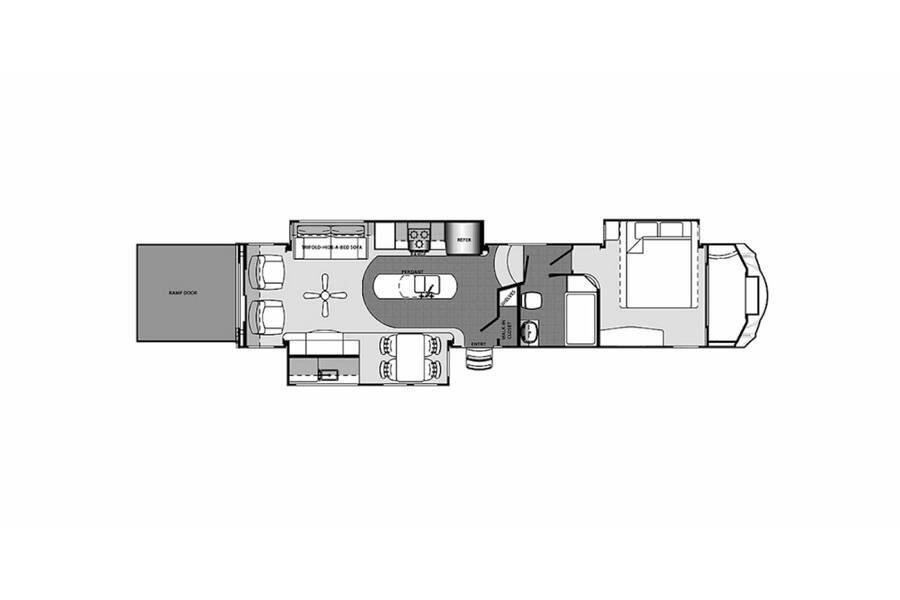 Floor plan for STOCK#RV20-13A