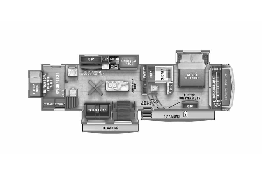 Floor plan for STOCK#21-26