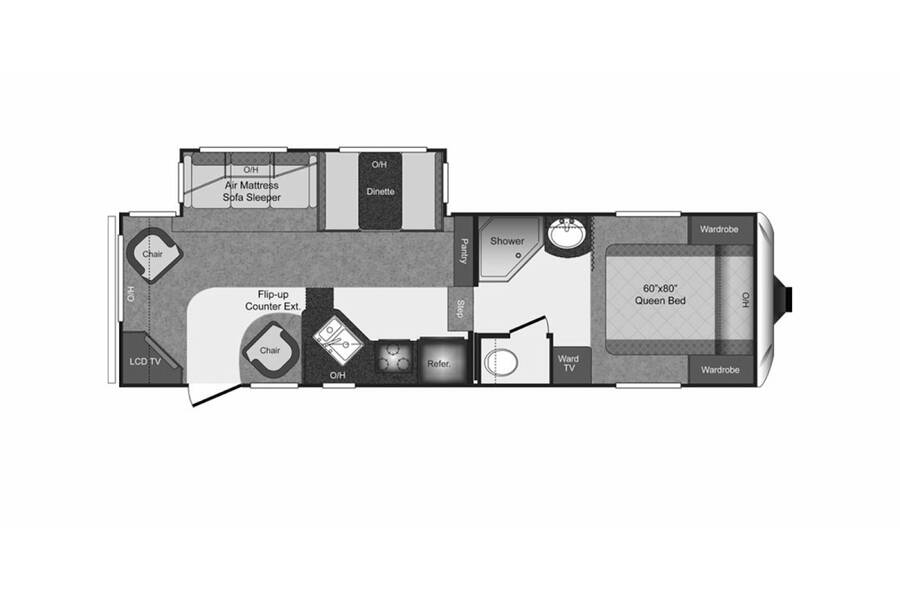 Floor plan for STOCK#21-20A