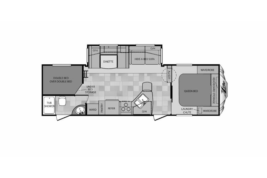 Floor plan for STOCK#19-195A
