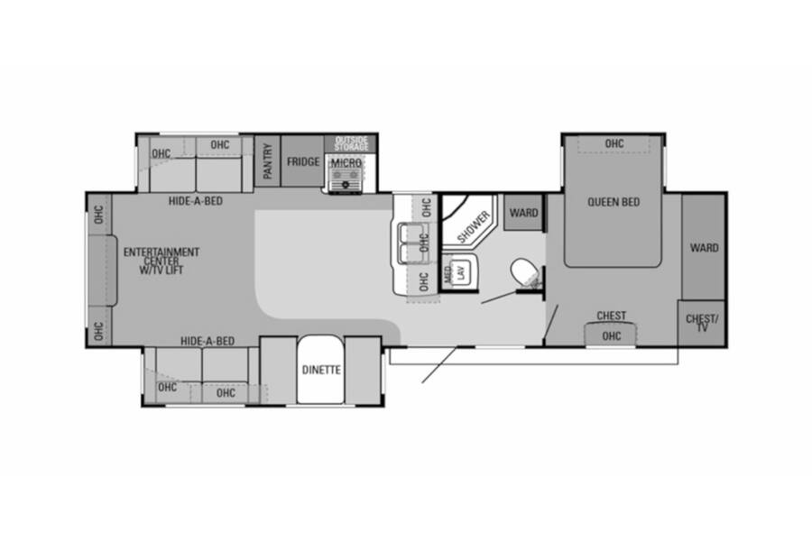 Floor plan for STOCK#19-52A