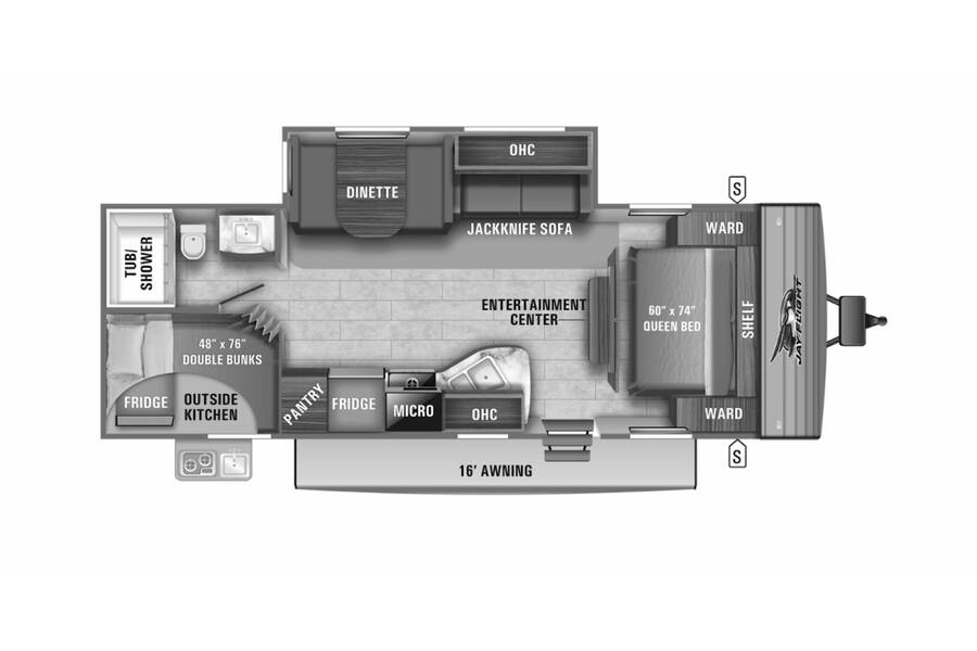 Floor plan for STOCK#21-16