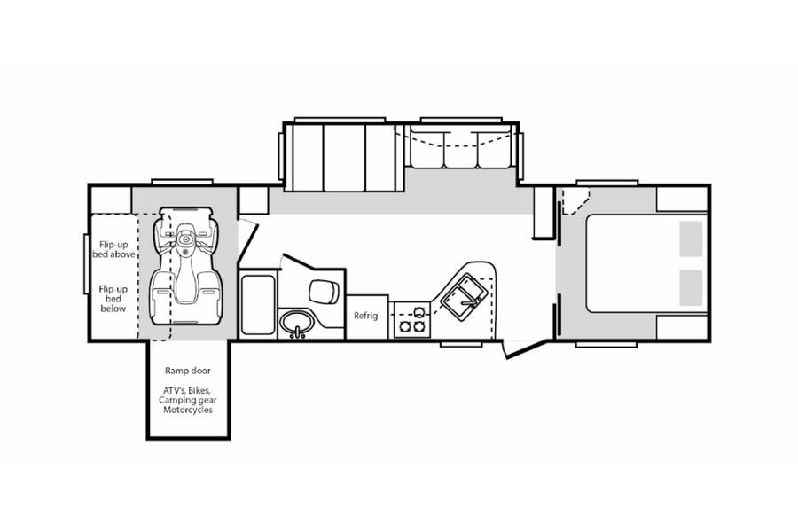 Floor plan for STOCK#19-111C