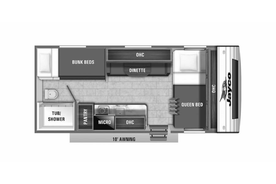Floor plan for STOCK#21-101
